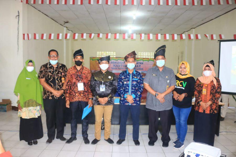 BRCN Kabupaten  Rohil Melakukan Kegiatan Eksplor ekonomi kreatif (ekraf) Dan Penyerahan Mandat BRCN TPTM