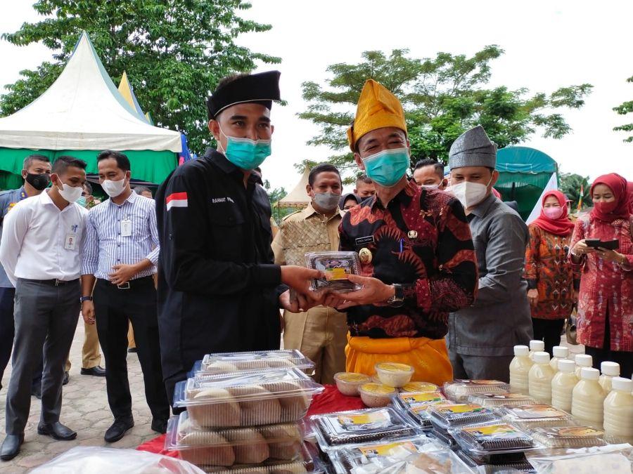 Rahmat Pantun Dilantik Menjadi Ketua BRCN Kecamatan Tanah Putih Tanjung Melawan Rohil