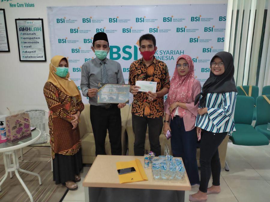 Ketua dan Anggota BRCN TPTM Bersilaturahmi Ke PT. Bank Syariah Indonesia Ujung Tanjung