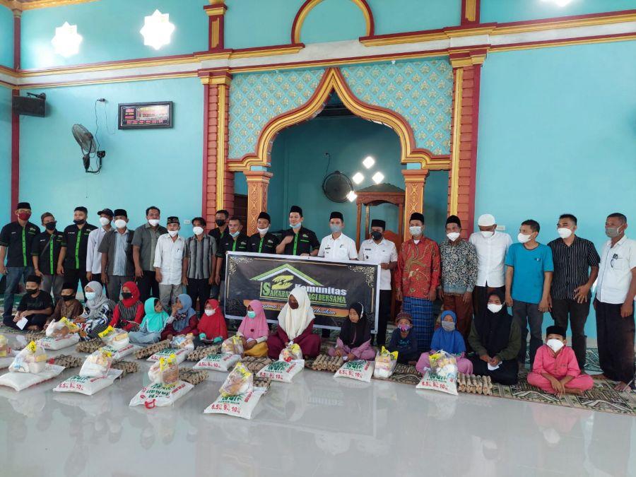 KSBB Rohil Kembali Adakan Santunan Anak Yatim di Tanah Putih Tanjung Melawan