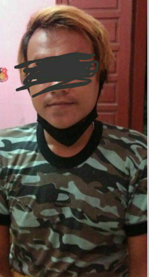 Polres Rokan Hilir Amankan Pria yang Diduga Lakukan Perdagangan Manusia