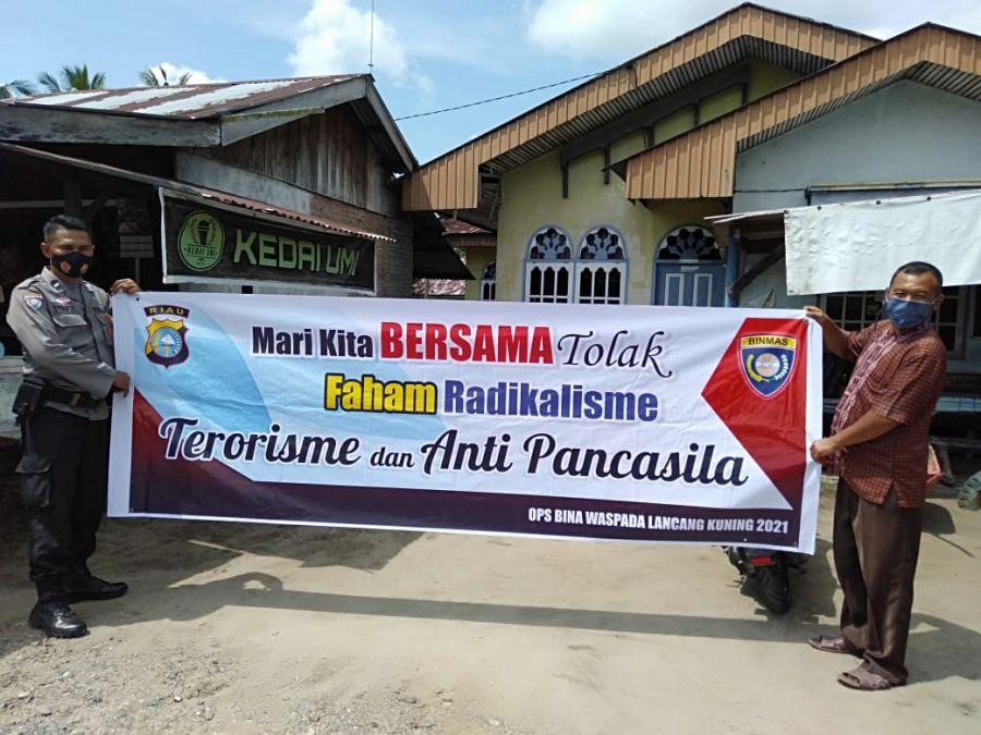 Polsek TPTM Gelar Operasi Bina Kusuma Lancang Kuning 2021