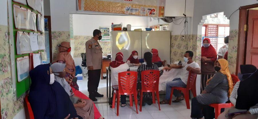 Polsek TPTM Jemput Bola Vaksinasi Covid-19 untuk Lansia, Toga dan Tokoh Masyarakat