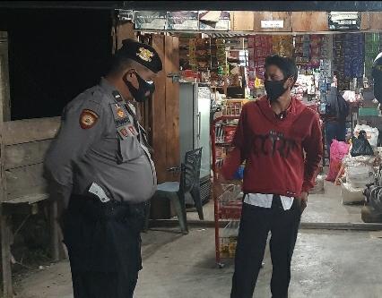 Polsek TPTM Patroli Dialogis Kepada Masyarakat di Kecamatan Tanah Putih Tanjung Melawan