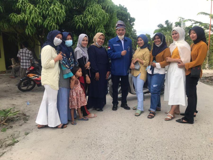 Reses Anggota DPRD Provinsi Riau, H.Zukifli Indra Serap Aspirasi Masyarakat