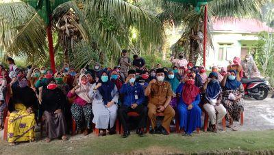 Anggota DPRD Provinsi Riau Gelar Reses di Kepenghuluan Batu Hampar TPTM Rohil