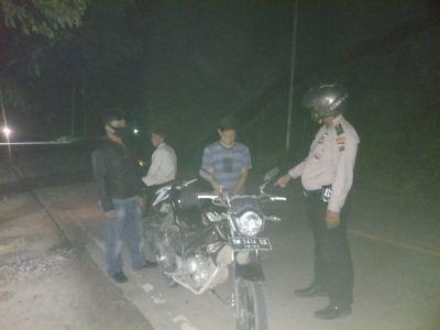 Cegah Kejahatan , Polsek TPTM Patroli Rutin Wilayah Perbatasan