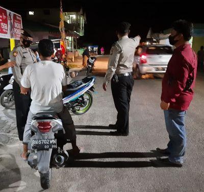 Jajaran Personil Polsek TPTM Laksanakan Patroli KRYD Rutin