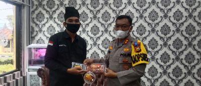 Kapolres Rohil Terima Kunjungan Silaturahmi Rahmat Pantun Ketua BRCN TPTM
