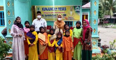 Karmila Sari DPRD Provinsi Riau Peduli Kemajuan Seni Budaya Siap Mendukung Komunitas Tepak Sirih