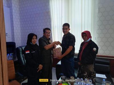 Ketua BRCN TPTM dan Anggotanya Silaturahmi Ke DPRD Rohil Fraksi Gabungan
