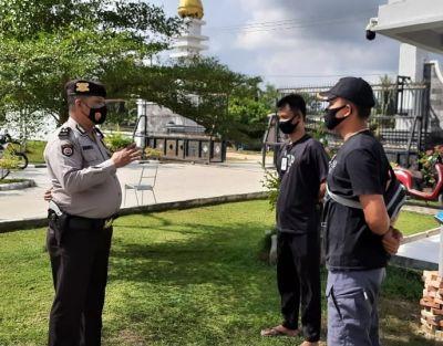 Polsek TPTM Patroli  Di Spam Durolis
