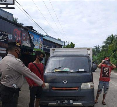 Polsek TPTM Patroli Jalan Raya Antisipasi Kejahatan Jalanan