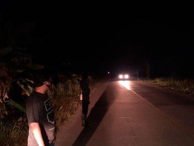 Polsek TPTM Patroli Rutin Wilayah Perbatasan Cegah Kejahatan Dan Laka Lantas