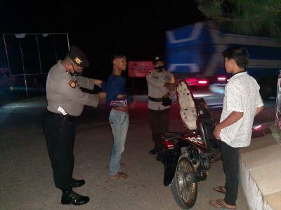 Polsek TPTM Rohil, Tingkatkan Keamanan Dengan KRYD