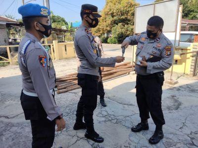 Tingkatkan Disiplin Anggota, Kapolsek TPTM Gelar Ops Gaktibplin